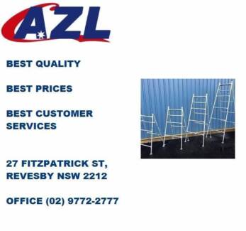 Brand new Steel Bricklaying trestle: 1.2m~2.4mGreat deals availab