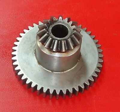 A. B. Dick Printing Press Parts Feed Table Raise Miter And Spur Gear 072561