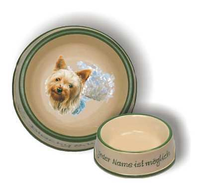 Futternapf mit Namen / Hunderasse S-Z Fressnapf Terrier, Schnauzer,