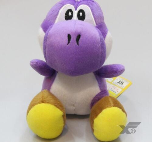 Super Mario Bros 9 Yoshi Plush Flower Mushroom Toy Cute Teddy New