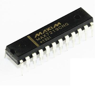 Maxim Max7219cng Dip-24 Led Display Driver Ic