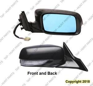 Door Mirror Power Passenger Side Heated/Memory /Signal Acura TL 2009-2014