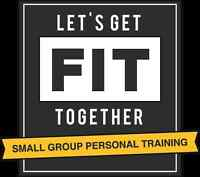 Affordable Small Group Personal Training:  $20-50/hr per person