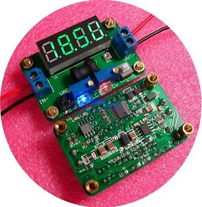 DC-Step-Down-Converter-2A-Constant-Voltage-Current-W-Voltmeter-Ammeter-green-led