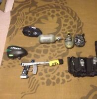 NEEDS TO GO! Paintball gear great for beginners