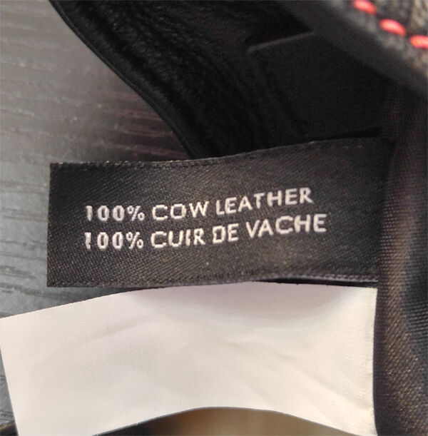 The larger tag has Made in China, Vietnam or Indonesia in both French and English.