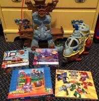 Kids toy/book/puzzle lot