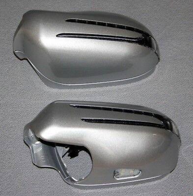 SPIEGELKAPPEN LED BLINKER FÜR MERCEDES R230 SL SILBER 775 Bj.2005-2009