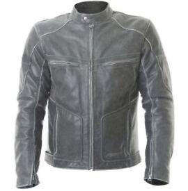 RST Classic - 1227 Roadster Motorbike Armoured Leather Jacket - Size UK42