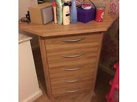 Corner chest of drawers beech.Not wardrobe cabinet