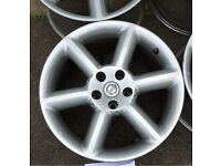 "350z Nissan alloy wheels 18"" excellent condition Will fit most Japanese CRV. Toyota Mazda Lexus"