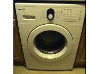 98 Samsung WF8602NGW 6kg 1200 Spin White LCD Washing Machine 1 YEAR GUARANTEE FREE DEL N FIT