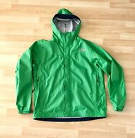 North Face Lime Green Rain Jacket Men's M