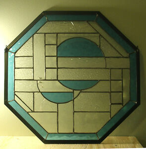 stained glass octagon Stratford Kitchener Area image 1