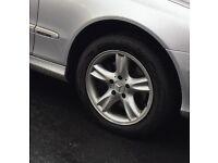 Mercedes alloy wheel