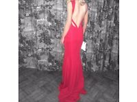 Pia Michi Red Dress Size 8 Prom Evening Evening Wedding