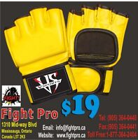 MMA GLOVES, FINE LEATHER, SAVE 70% ON ALL MARTIAL ARTS SUPPLIES