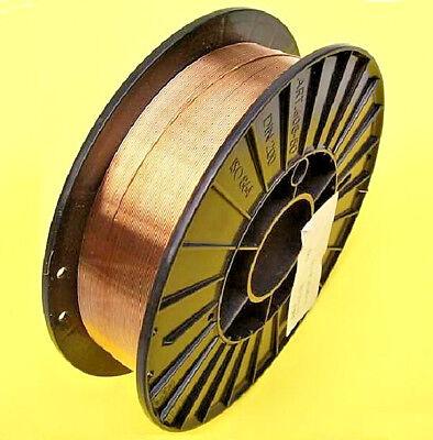 SG2 Schweißdraht Schutzgasschweißdraht Ø 0,8 mm 5kg Draht auf Kunststoffspule