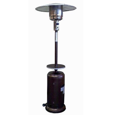 Bronze Commercial Restaurant Outdoor Patio Heater Propane Deck 41K BTU w Table ()
