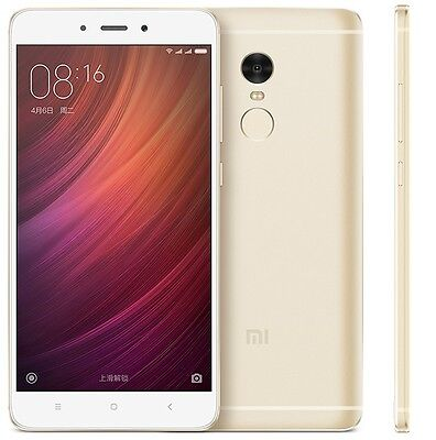 Xiaomi Redmi Note 4 5 5  64Gb 3Gb Ram Unlocked Phone Gold Uu