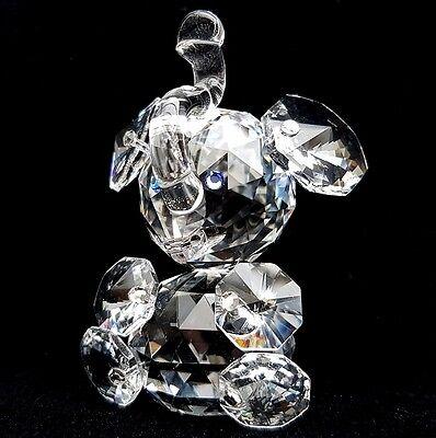 Crystal Glass Elephant Animal Wildlife Ornament