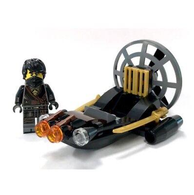 Authentic New LEGO Ninjago Masters Of Spinjitzu Cole Polybag 30426 Swamp Boat