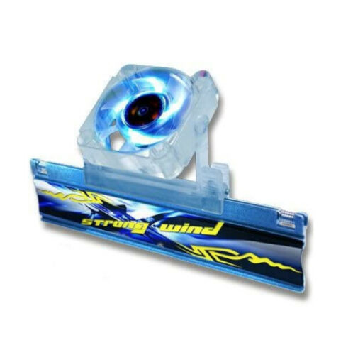 "Evercool ""Strong Wind"" Memory Cooler w/ Blue LED"