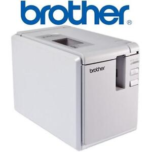 NEW OB BROTHER LABEL PRINTER PT-9700PC 136671235 DESKTOP Barcode Identification THERMAL Print