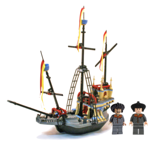 Lego Harry Potter Durmstrang Ship #4768