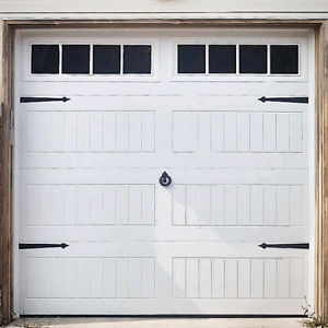 8x7 INSULATED CARRIAGE GARAGE DOORS........ From $850 Installed