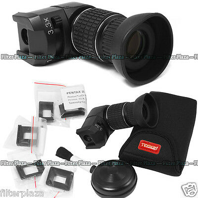 Seagull 1X-3.3X Right Angle View Finder for Canon Nikon Pentax Olympus Sony DSLR