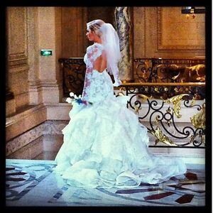 Wedding dress - whyte couture