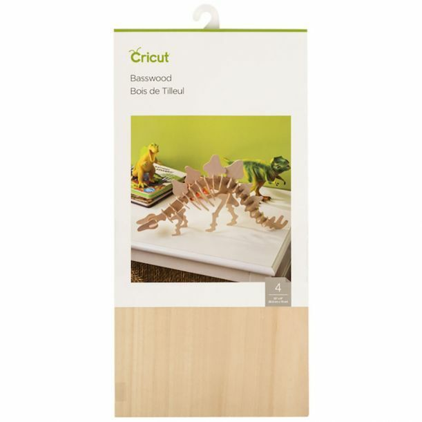 new basswood 12x6 4pcs maker craft cutting