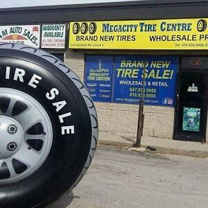 ** ALL SEASON TIRE WHOESALE OPEN TO THE PUBLIC - 195/65R15 - 215/60R16 - 205/55R16 - 225/65R17 - 215/55R17 - CALL NOW