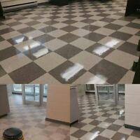 FLOOR CARE - FLOOR STRIP AND WAX || CARPET CLEANING AND MORE