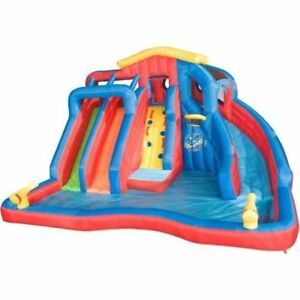 Banzai Hydro Blast Inflatable Water Park with Slides & Water