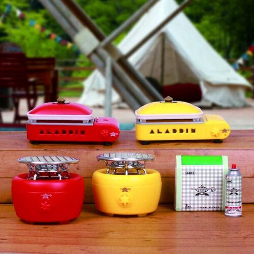 1:6 Compatible Dollhouse Camping Grill Gas Stove 1 Random Miniature Figure