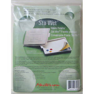 Masterson Painters Handy Stay Wet Palette For Artists Acrylic Paint