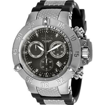 Invicta Subaqua Noma III 1380 Men's Round Analog Chronograph Date Silicone Watch