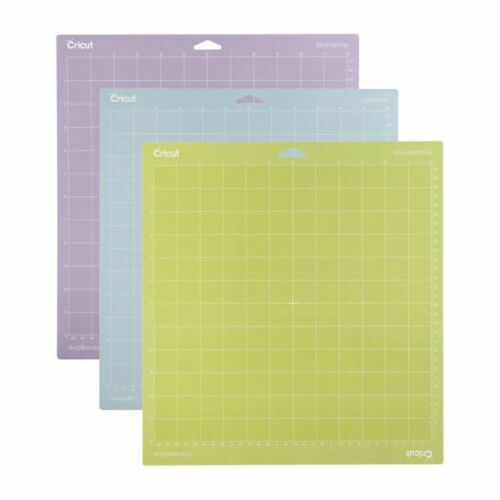 *New* Cricut CUTTING MAT VARIETY 12 x 12 Adhesive 3-pk Factory Sealed Free Ship