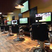Business Space for Rent in Busy Men's Barbershop