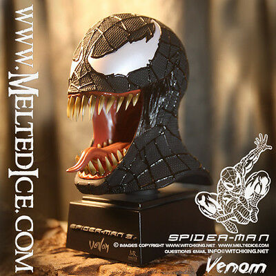 VENOM BUST (ships worldwide) New Master Replicas/Spiderman/Spider-man 3/Sideshow on Rummage