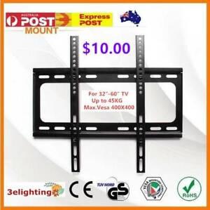 TV Bracket Wall Plasma Flat LCD LED Mount Tilt 32 40 42 47 50 65 Inch
