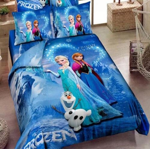 Frozen elsa anna set tende da camera curtains bedroom set cufr01 ebay - Letto di frozen ...