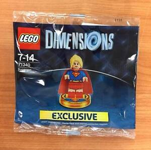 Lego Dimensions 71340 - rare Supergirl polybag (sealed) Bruce Belconnen Area Preview