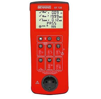 Benning ST 725 VDE Prüfgerät Gerätetester ST725 Gerätetester ST 725
