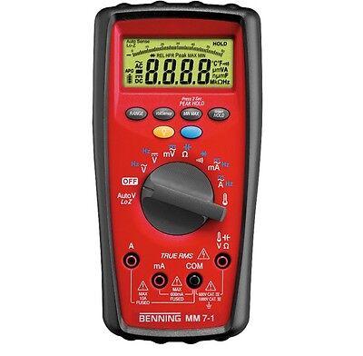 Benning Digital Multimeter MM 7 1 4014651440852 044085 Spannungsprüfer