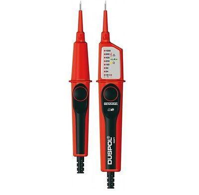 Benning Duspol EXPERT Spannungsprüfer Durchgangsprüfer12-1000 V AC 4014651502628