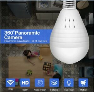 1080P 360 Degree Wireless IP Security Camera Surveillance Wifi