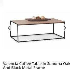 Brand new! Valencia coffee table with matching nest of tables